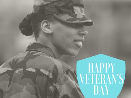 Happy Veterans' Day - From a Veteran