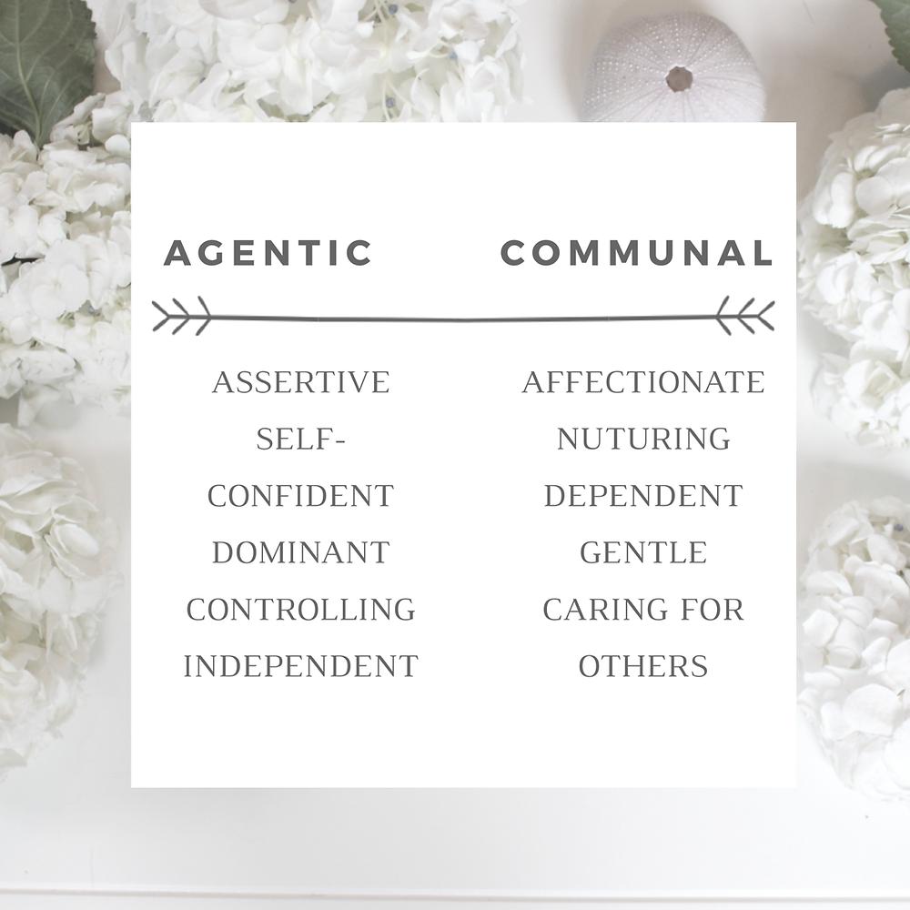 sheMD Agentic vs Communal Leadership Traits