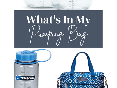 Pumping at Work: What's In My Bag?