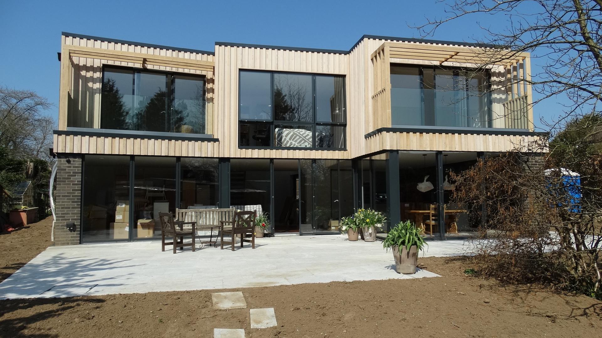 New House Build Exterior - Addington