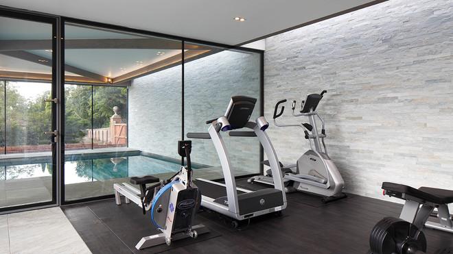 Large House Reconstruction, Gym
