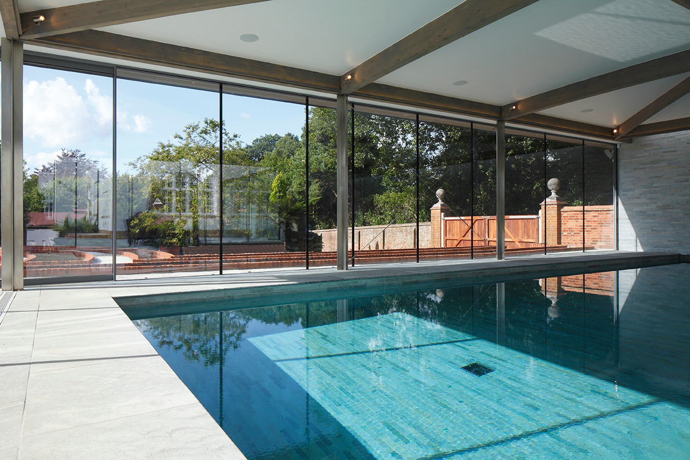 House Reconstruction, Swimming Pool
