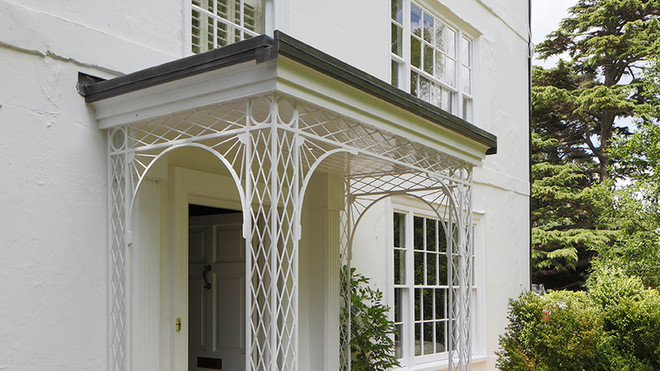 Listed House Extension Porch