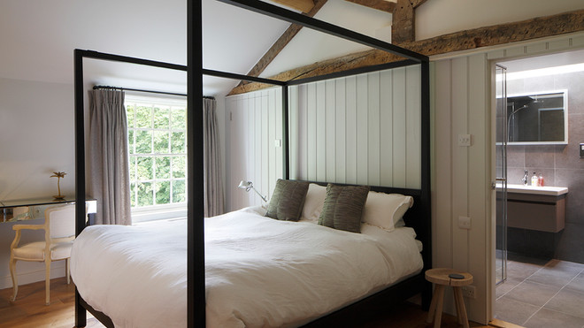 Listed House Extension Bedroom