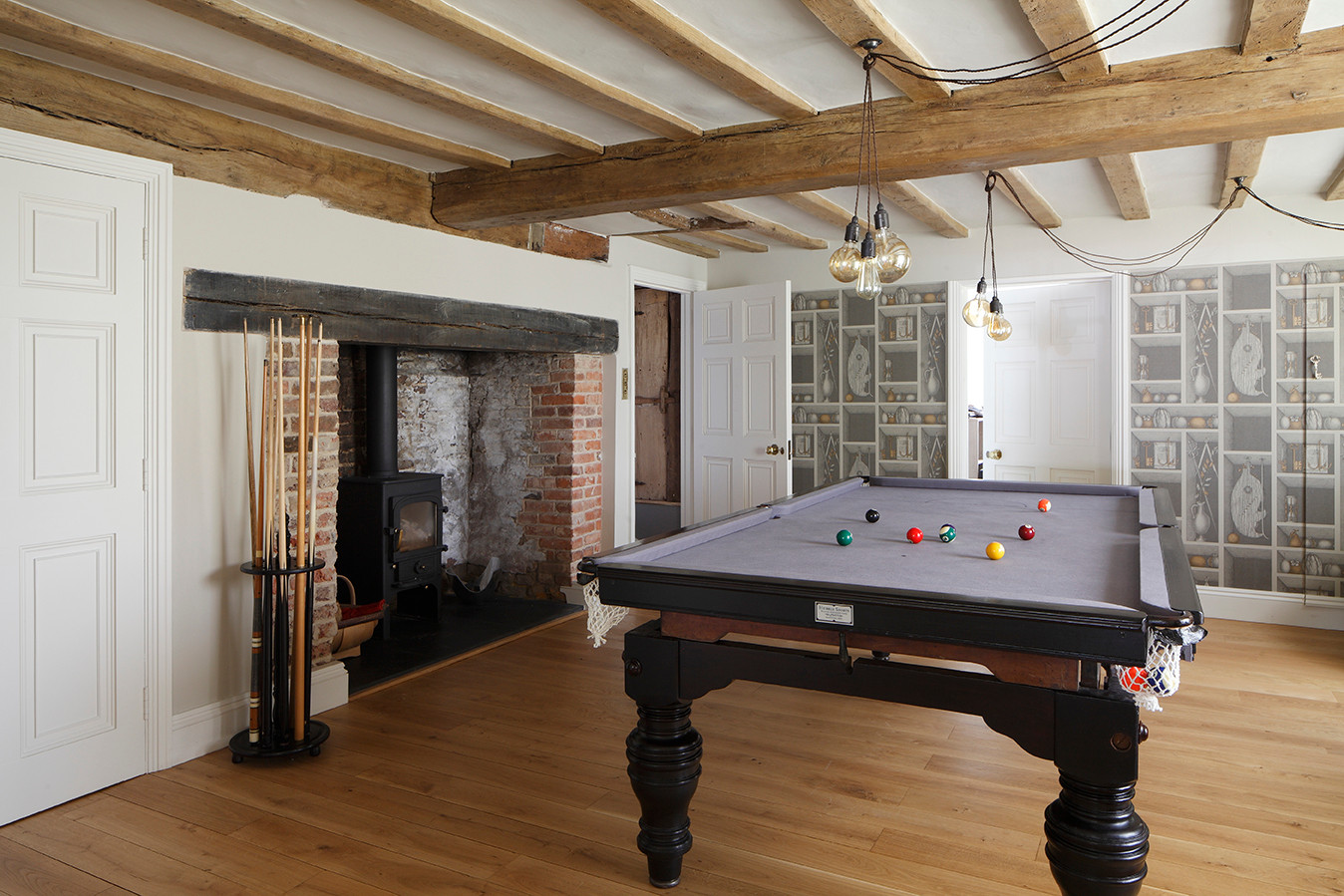 Listed house Extension Pool Room