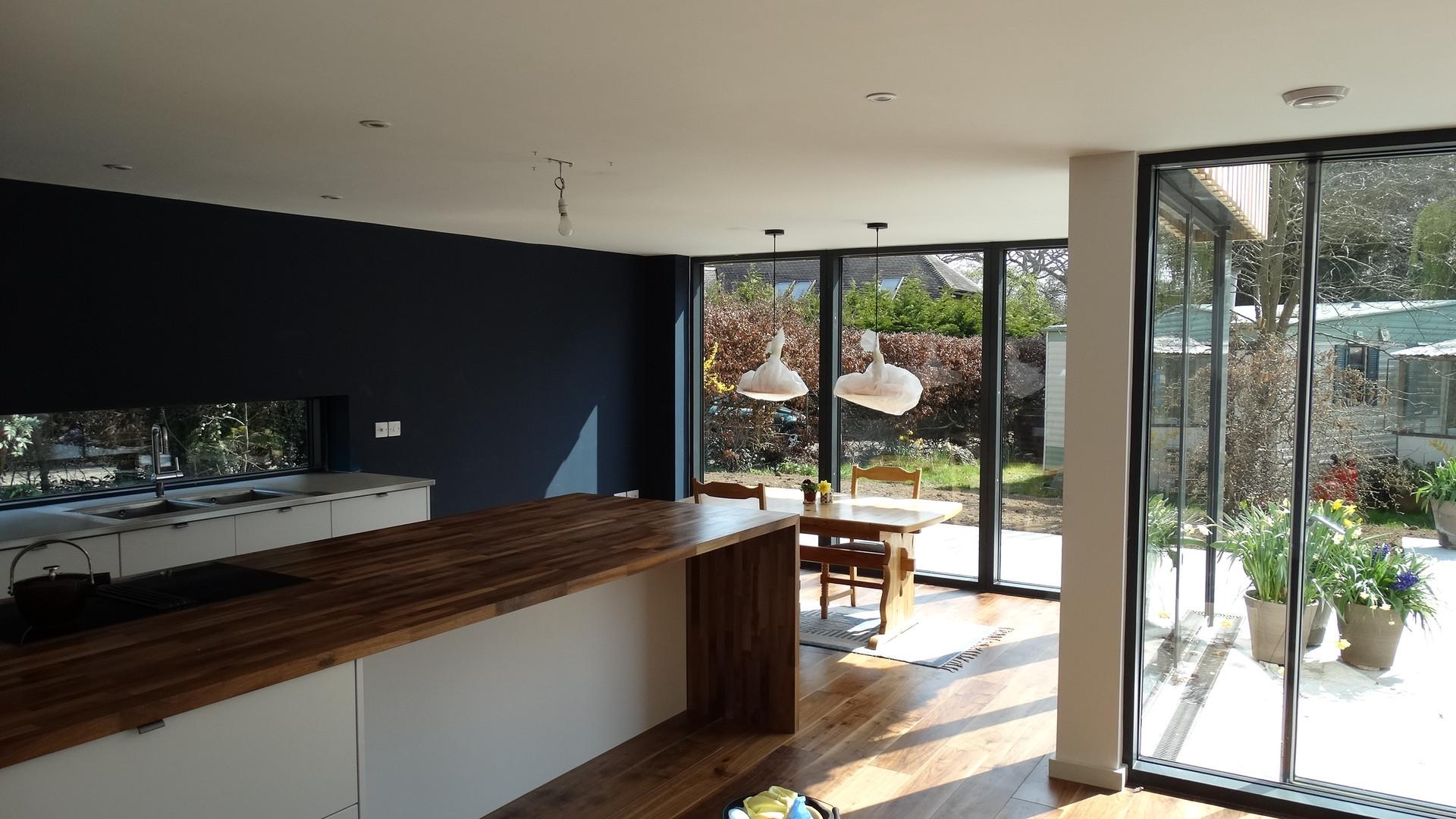 New House Build. Kitchen Diner - Addington