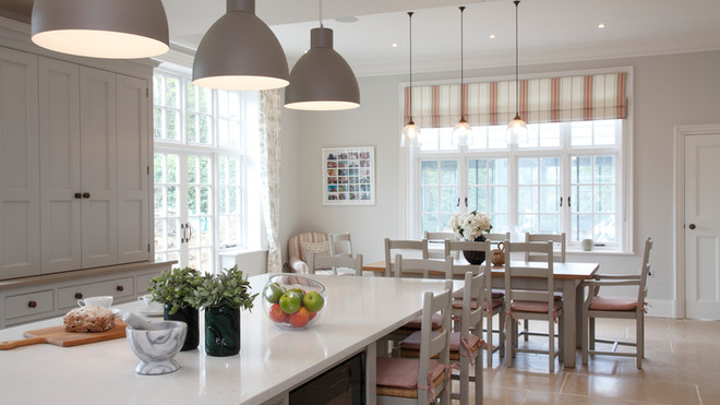 Large House Reconstruction Kitchen Diner
