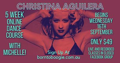 Christina Aguilera Course - Michelle 16t