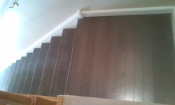 staircase landing after