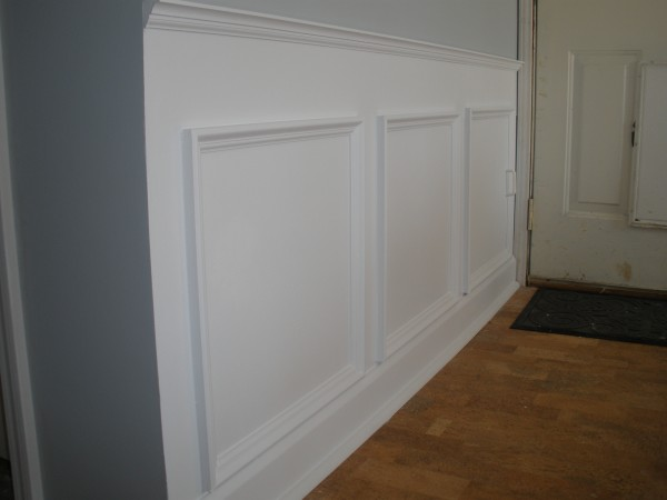 picture frame Wainscoting 3