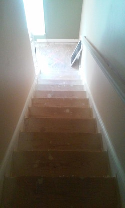 2nd staircase before day light