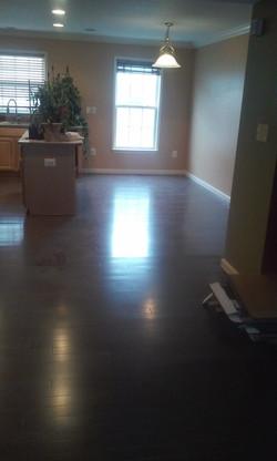 kitchen flooring install