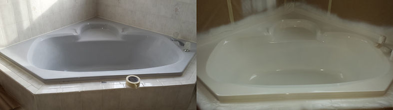 professional soaker tub refinishing