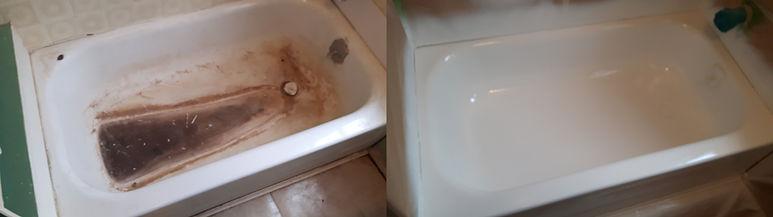 refinish old tub
