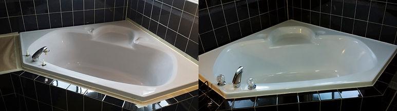 fiberglass soaker tub reglazing