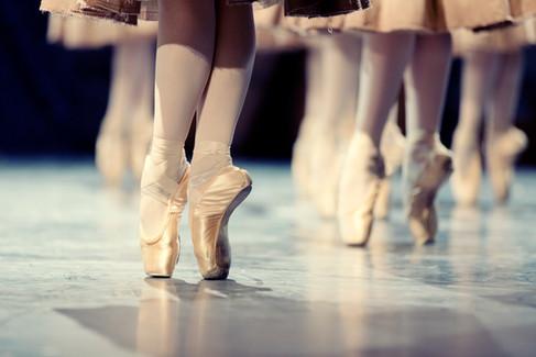 Dançarinos de balé