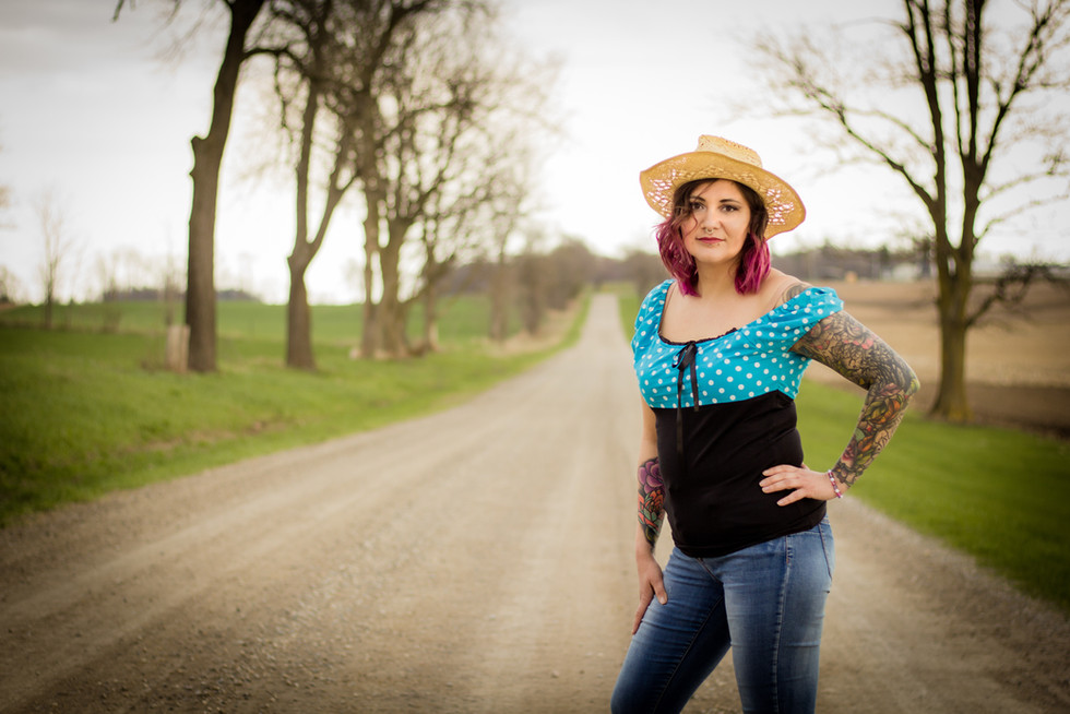 Walk in the Woods Photography - Portrait photography Woodstock - Dirt Road Photography