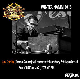 AD Luca Chiellini  Lounsberry NAMM  2018