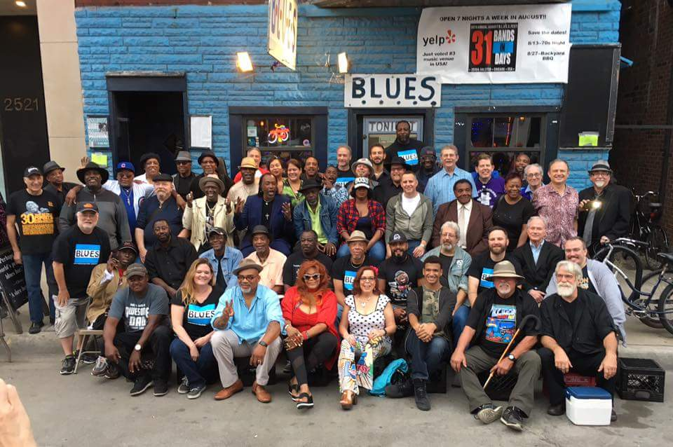 Annual BBQ Blues on Halsted - Chicago
