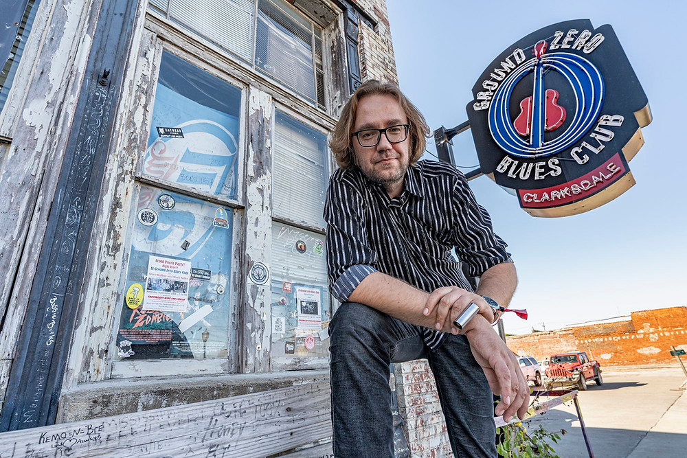 Loo autor bluusiklubi Ground Zero ees FOTO PETER LEE