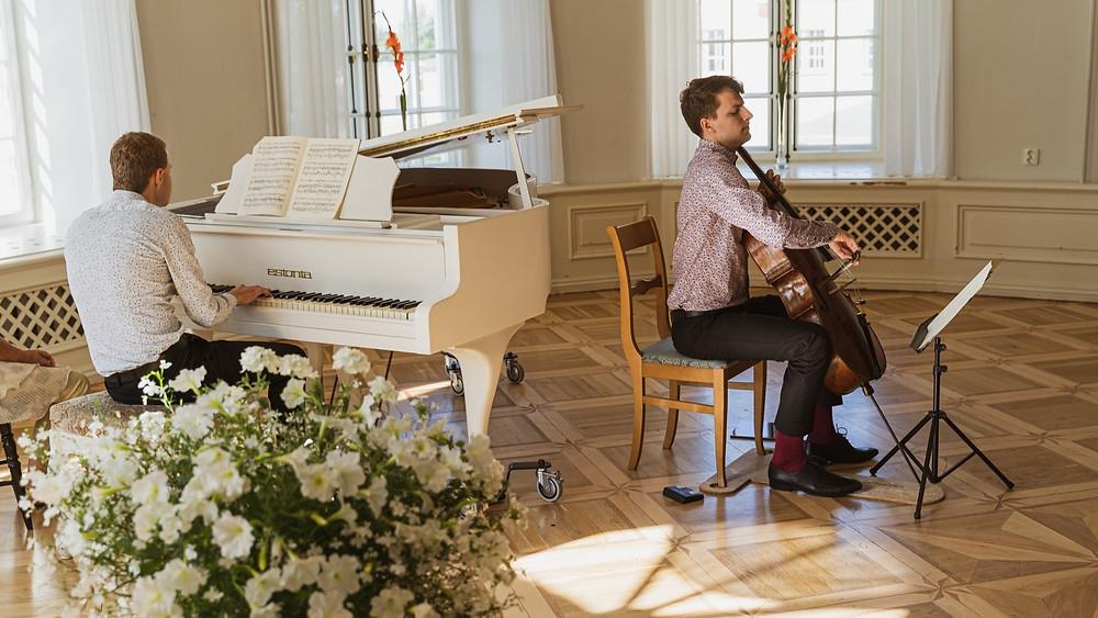 Kammerkontsert Uuemõisas –  Sten Heinoja ja Marcel Johannes Kits.