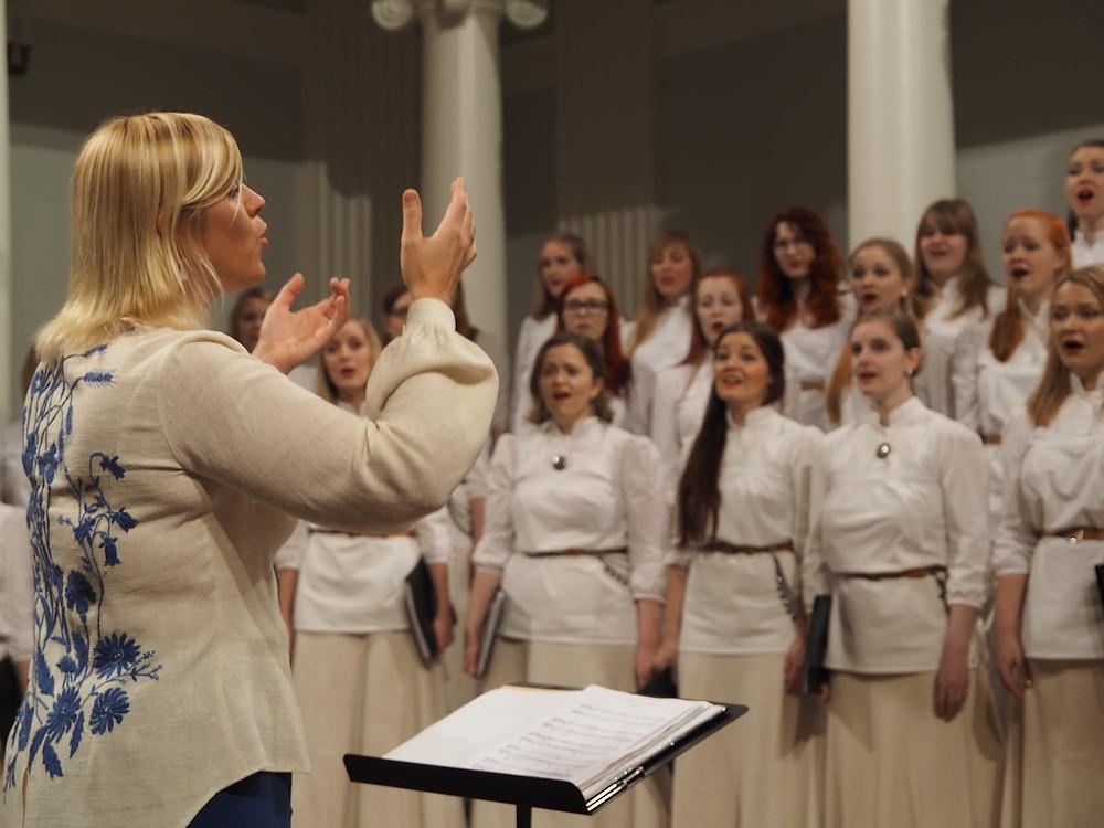 """2015. aasta juubelikontserdil """"Ela. Kasva. Õitse"""". FOTO PEETER SÄÄLIK"""