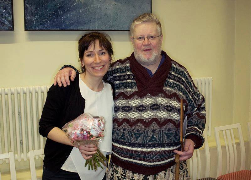 Tänavused preemiasaajad Liisa Hirsch ja Martin Anderson. FOTO ETMM