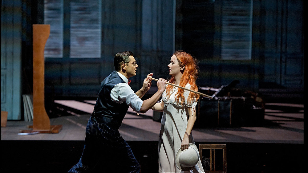 Figaro – Lauri Vasar, Susanna – Anna Prohaska. FOTO WWW.OPERNFAN.DE