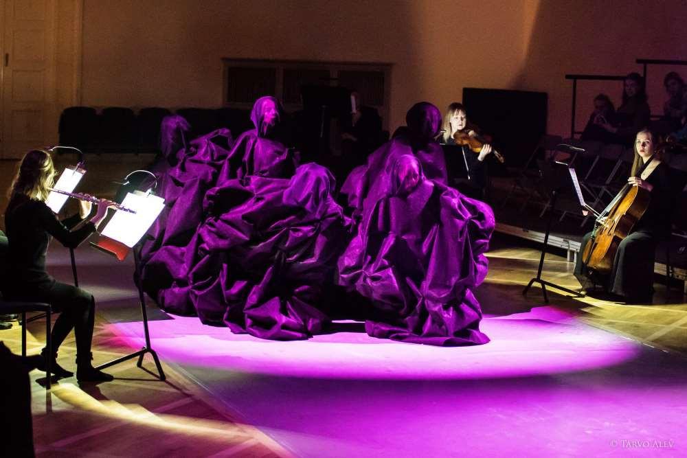 """Audiovisuaalne kontsert """"Koridor"""". FOTO TARVO ALEV"""
