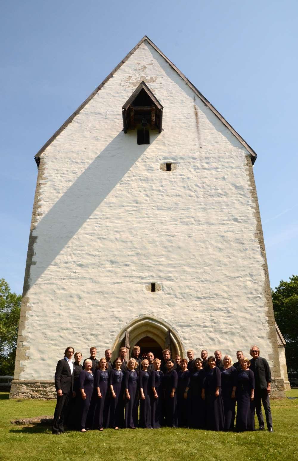 Sünnipäevakontsert Muhu kirikus 2016. aasta juulis. FOTO TÕNU TORMIS