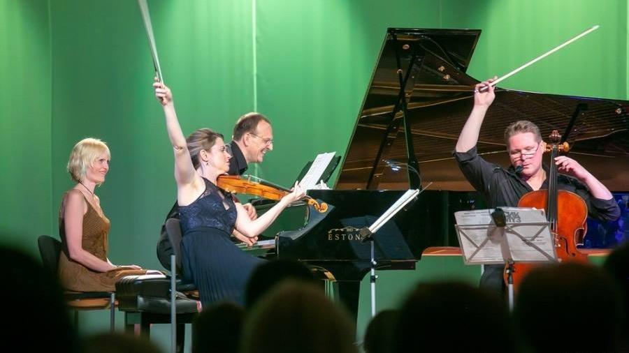 Trio Paas – Bezrodnyi – Gustafsson. FOTO IRINA MÄGI