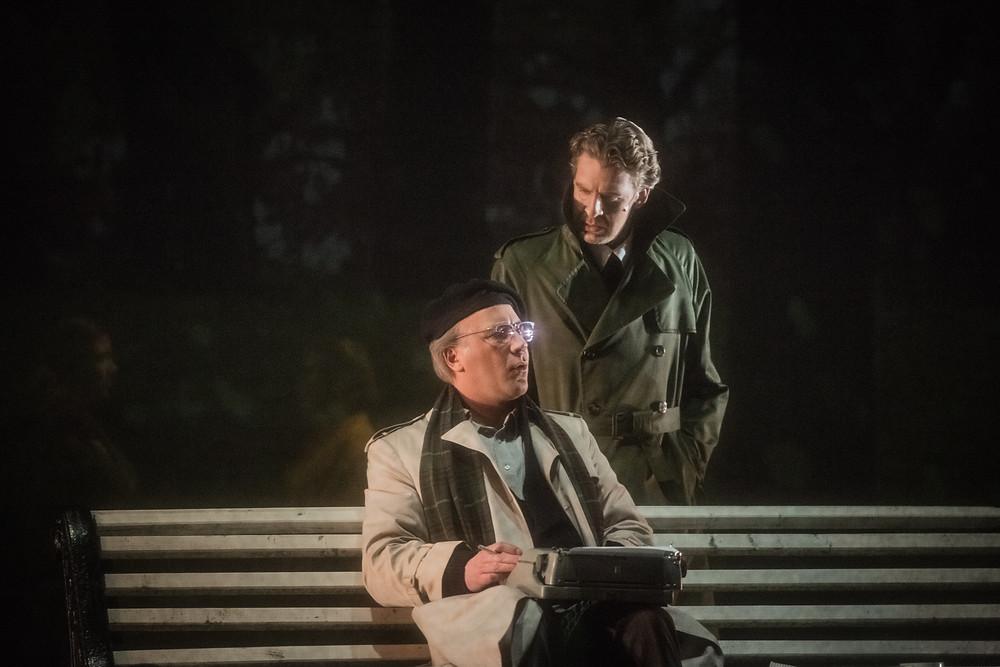 Manfred MIM ja Lennart Meri Kadriorus. FOTO GABRIELA LIIVAMÄGI