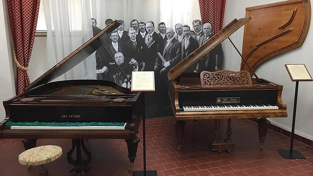 Petrofi klaverivabriku muuseum. FOTO RAIVO SERSANT