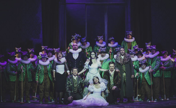 """Aus ja ilus. """"Lucia di Lammermoor"""" Vanemuises"""