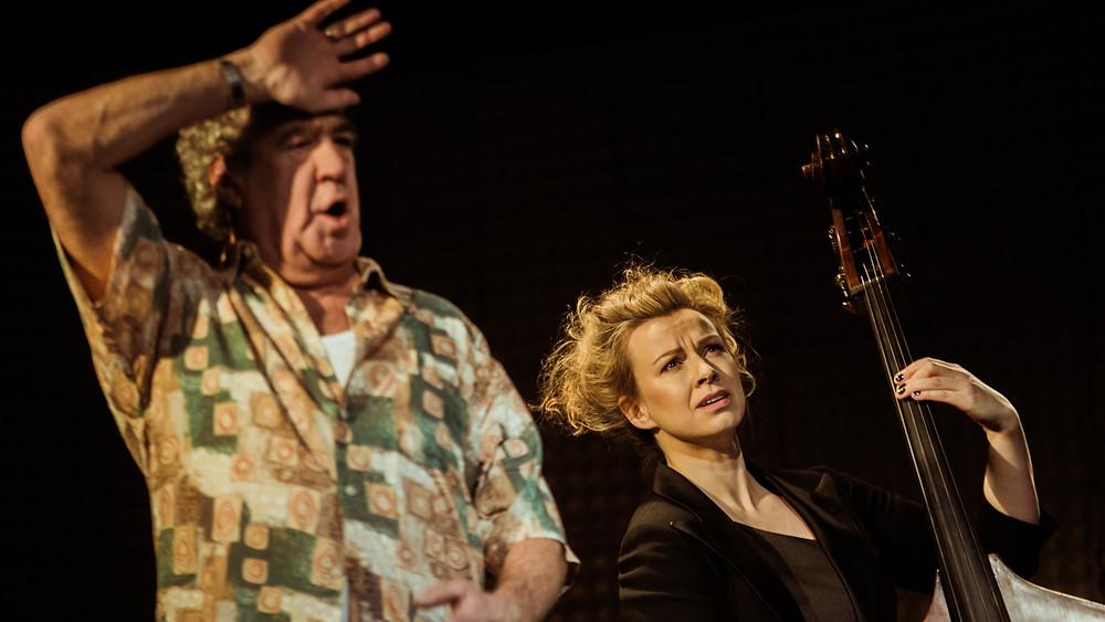 Teatrilaval koos Guido Kanguriga. FOTO GABRIELA LIIVAMÄGI