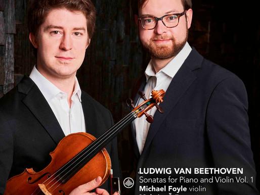 Ludwig van Beethoven. Sonatas for Piano and Violin Vol. 1. Michael Foyle, Maksim Štšura