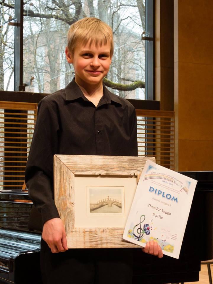 II koha ja väljapaistva stiilitunnetuse eripreemia pälvinud Theodor Teppo. Foto Margus Hindrikson.