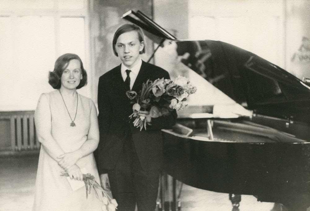 Virve Lippus ja tema õpilane Rein Rannap