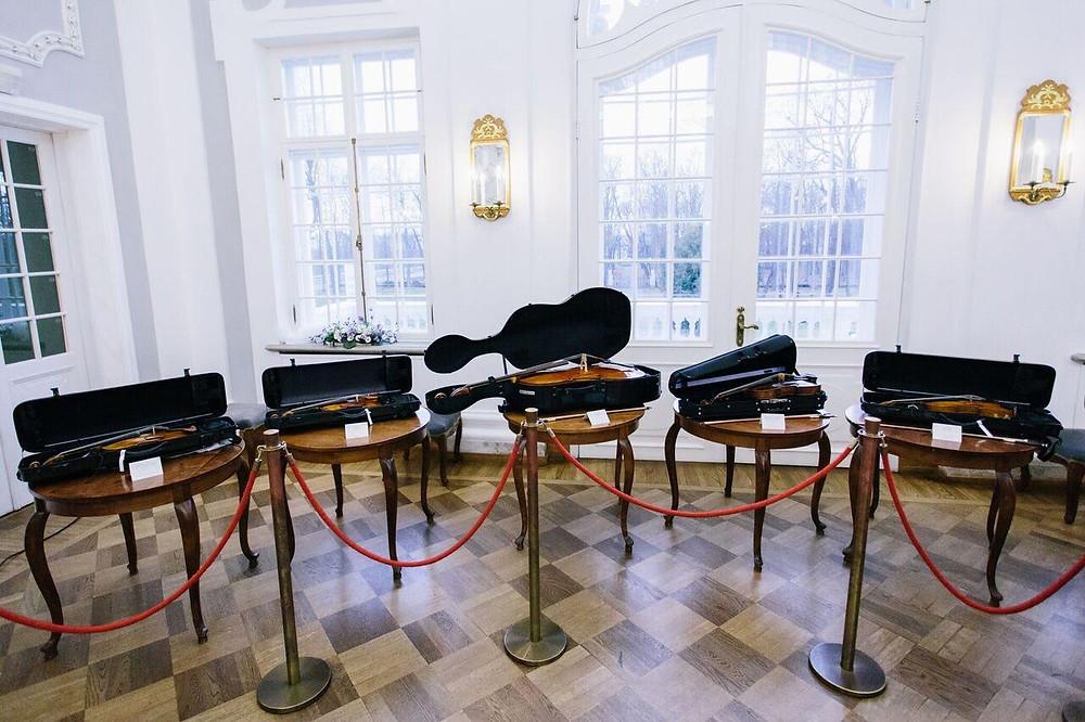 Kaks päeva vähem kui aasta asutamisest, võis Eesti Pillifond esitleda kuut hinnalist keelpilli