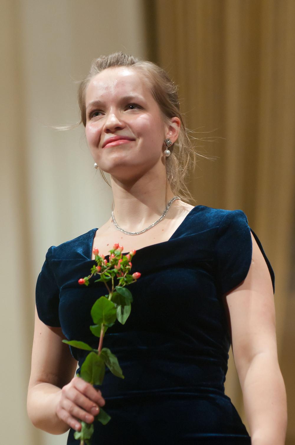 II Tallinna rahvusvahellise konkursi võitja Kristi Kapten aastal 2011. Foto Vahur Lõhmus / TIPC
