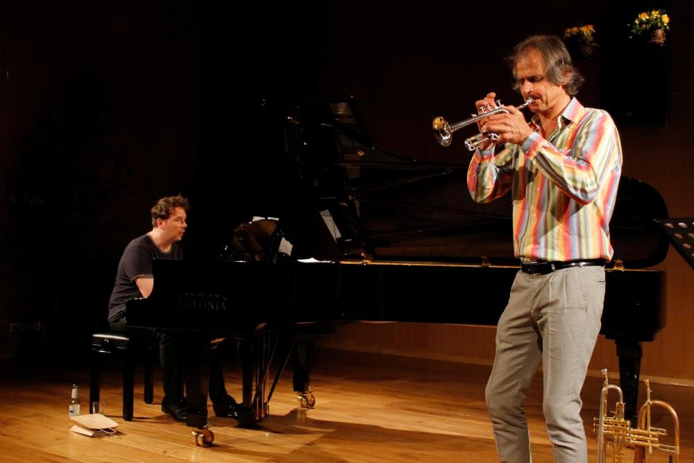 Markus Stockhausen ja Florian Weber. FOTO SOLVEIG LILL