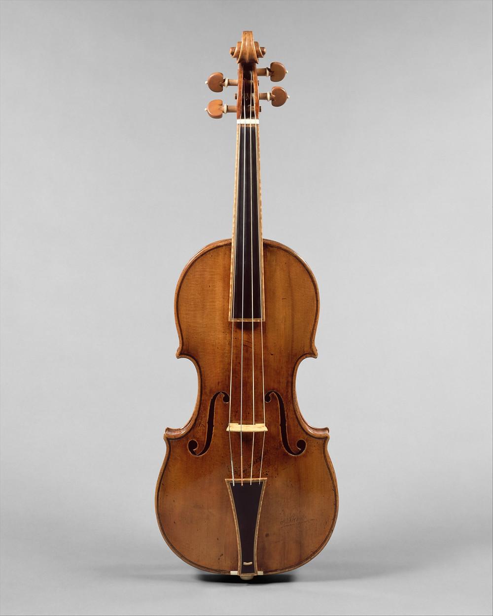 """""""The Gould"""" (1693) on ainus Antonio Stradivari viiul, mille algne ehitus on taastatud. FOTO www.metmuseum.org"""