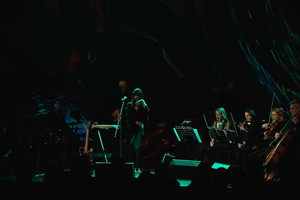 "Anna Kaneelina kontserdisarjas ""Curioosum"". FOTO GUNNAR LAAK / EESTI KONTSERT"