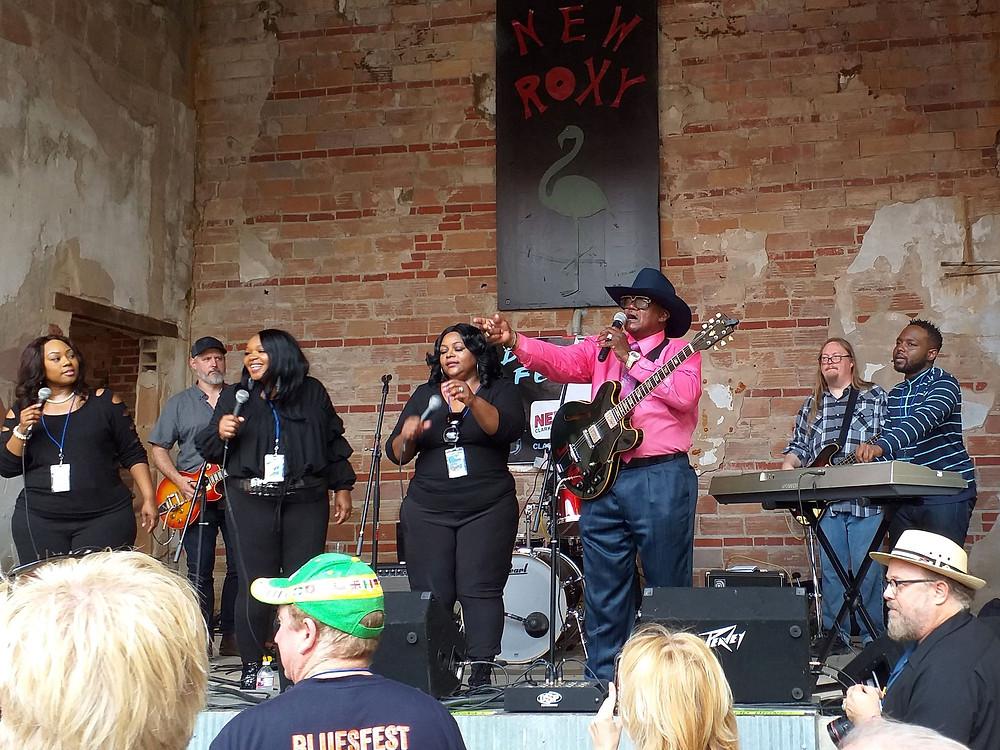"Reverend John Wilkinsi ""bluusijutlus"" festivalil ""Deep Blues"" FOTO ANDRES ROOTS"
