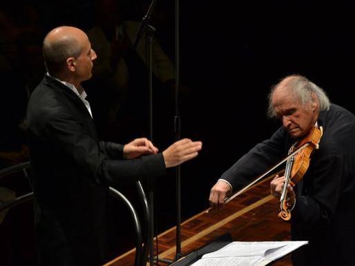 Suri viiuldaja Ivry Gitlis