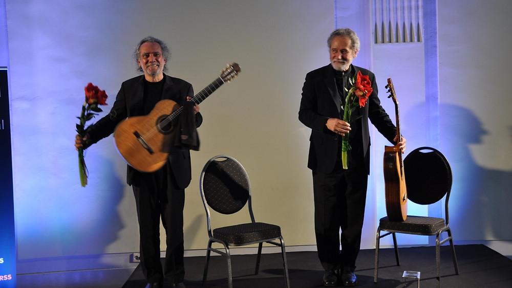 Brasiilia duo Sérgio ja Odar Assad. FOTO TIIT PETERSON