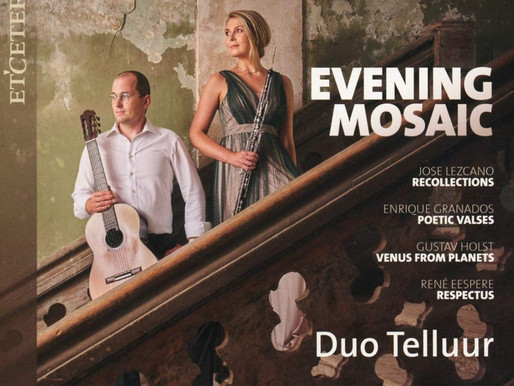 Evening Mosaic / Õhtumosaiik. Duo Telluur / Etcetera Records