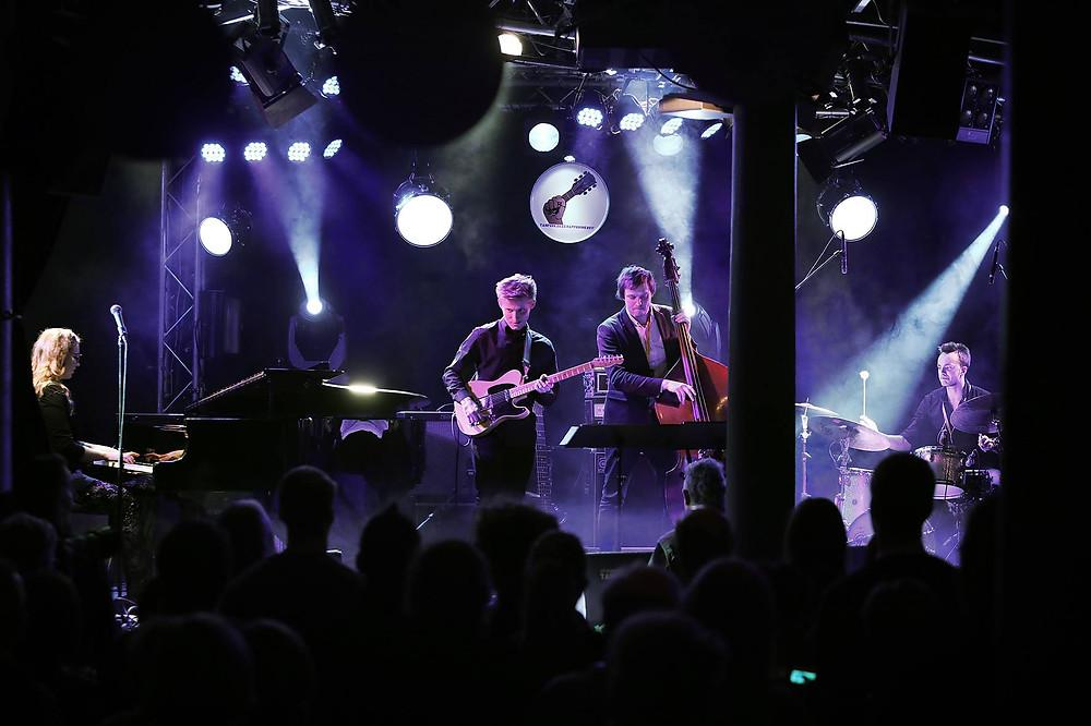 Eesti noore jazzi esindus Tampere jazzifoorumil - Kirke Karja Quartet. Foto Tampere Jazz