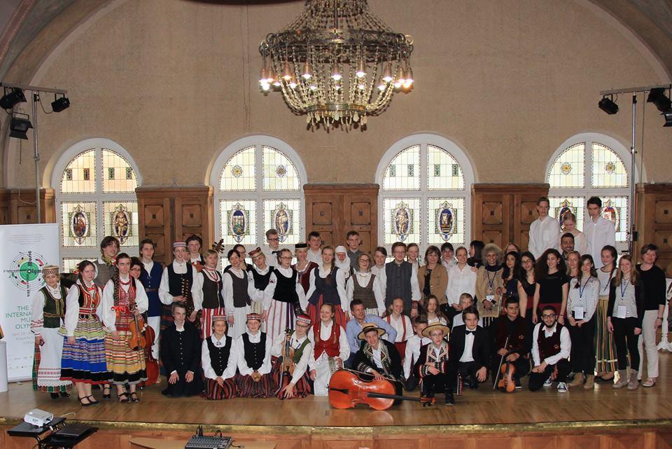 Kõik rahvusvahelisel muusikaolümpiaadil osalejad