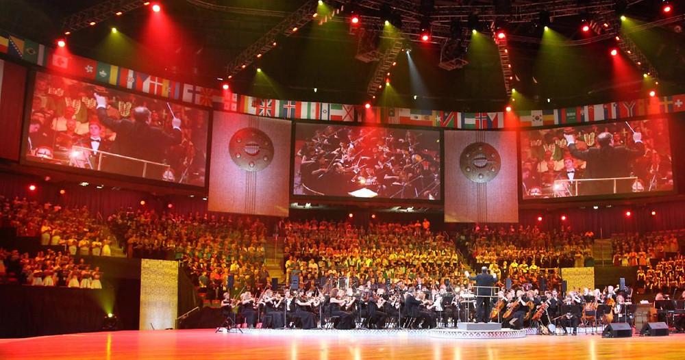 Hetk kooride Eurovisioonilt. FOTO EUROVISION.TV
